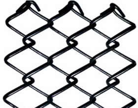 Metal Chain link Fencing Ease of installation Open weave Chain Link Fencing